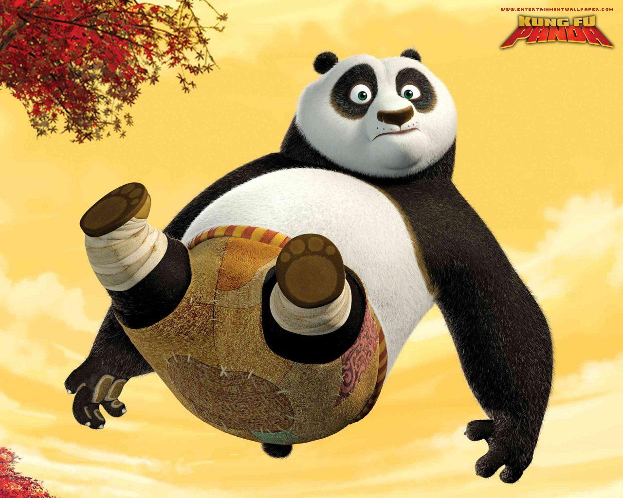Kung Fu Panda Baby Wallpaper